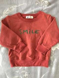 🚚 Smile 薄長T
