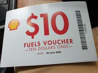 Shell Petrol Voucher (For $200 worth)