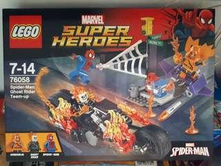 Lego Marvel Superheroes 76058 Spider-Man: Ghost Rider Team-up
