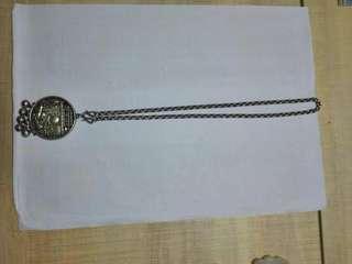 老銀兒童項鏈