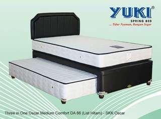 Yuki Springbed 2in1 MC (Promo Cicilan 0% dan tanpa DP)