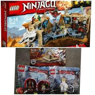 Lego Ninjago 70596 Samurai X Cave Chaos & Polybag