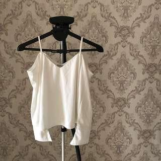 Oudre White Sabrina Top