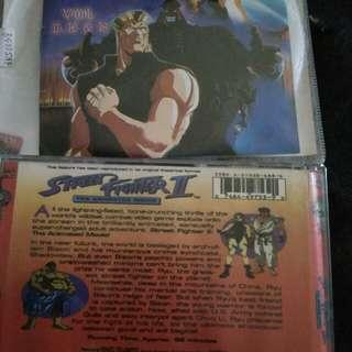 Cd Street Fighter 2 the animated Movie
