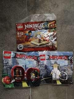 Lego Ninjago Polybags 30425 5004915 5004916