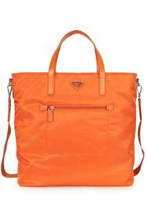 e74da48edda0 Brand New Prada Nylon Tote Orange (authentic)