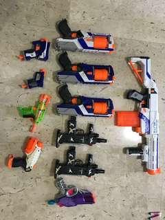[For rent] Nerf Guns
