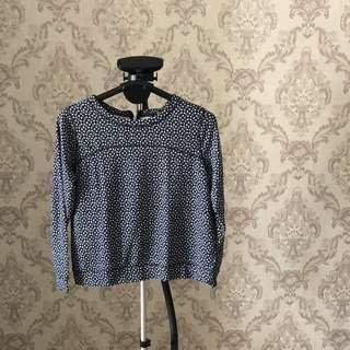 H&M Blue Top