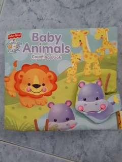 Fisherprice Baby Animals Counting Book