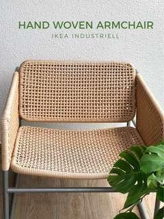Hand Woven Chair (rattan style)