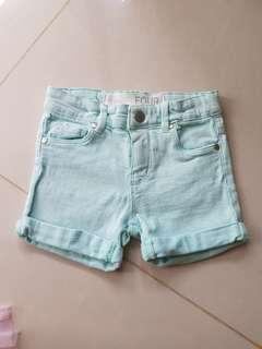 Cottonon shorts for girls (4-5 yrs old)