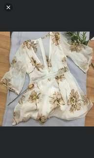 Floral playsuit #swapnz