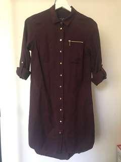 Forever New shirt dress