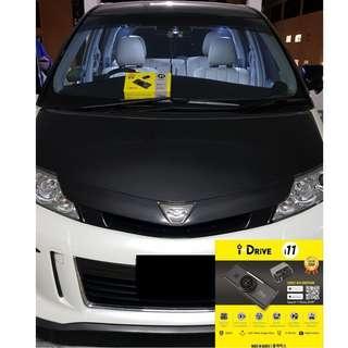 iDrive i11 Car Camera/Dashcam Installed On Toyota Estima
