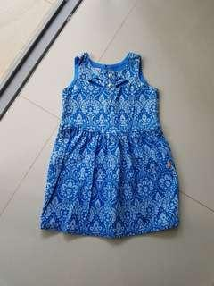 Blue Dress for 3yrs old