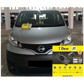 iDrive i11 Car Camera/Dashcam Installed On Nissan NV200