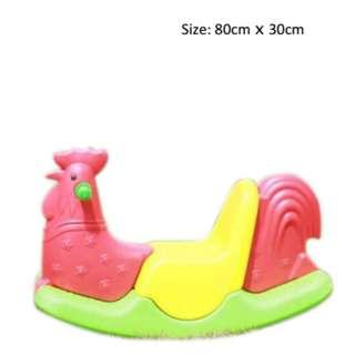 Playground Rooster Seesaw