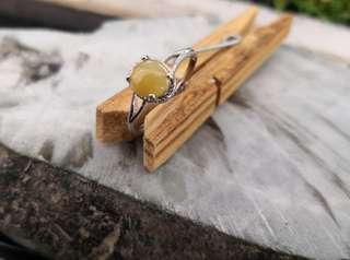 Jadeite Silver Ring