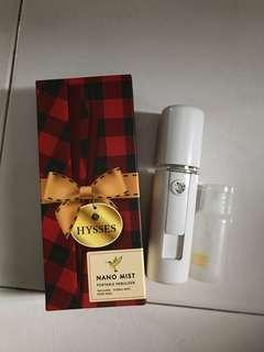 HYSSES NANO MIST SPRAY WITH ROSE FLORAL WATER