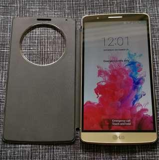 LG G3 with Charging Cradle