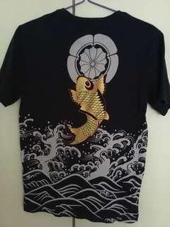 Japanese art shirt