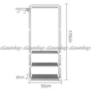 Square Steady Stand Hanger / Rack Organizer