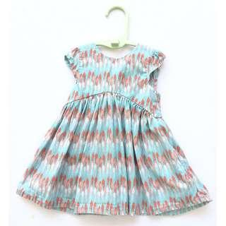 Mothercare Baby Girl Dress (Feather)