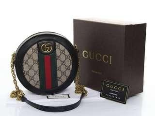 Gucci Ophidia GG Round Bag