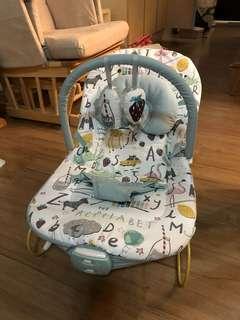 Mamas & Papas Buzz Baby Bouncer / Infant Bouncing Cradle – Alphabet