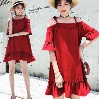 [CNY 2019 Collection] Pre Order [XL - 5XL] Plus Size Dress