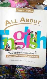 3 Sec One school books