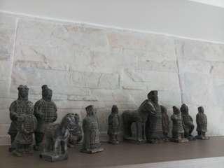 兵馬俑 公仔 裝飾 家居擺設 古董收藏