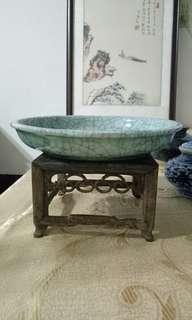 🚚 古哥窯淺瓷盤