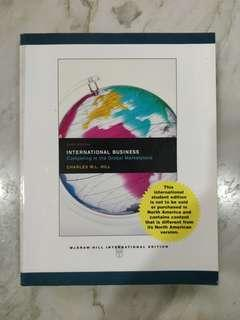 INTERNATIONAL BUSINESS - COMPETING IN THE GLOBAL MARKETPLACE (6TH EDITION)