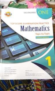 Sec 1 Math Workbook