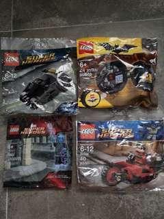 Lego Batman 30300 30166 5002125 5004929
