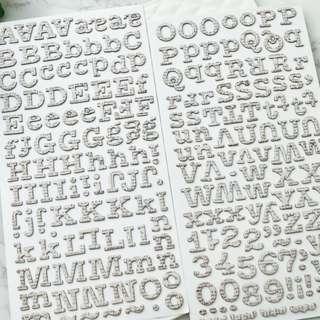 Thicker Alphabet- TA 53348