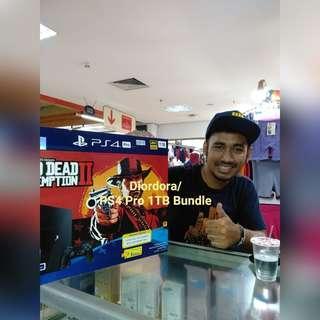 Playstation 4 Pro 1TB Bundle