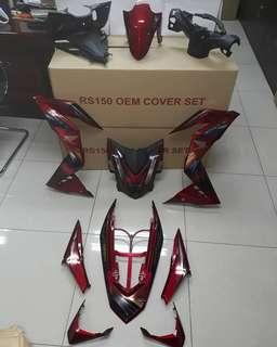 COVERSET HONDA RS150 LIMITED CHROME