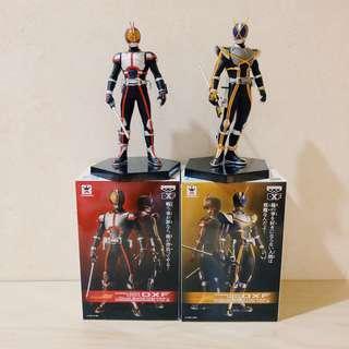 "Kamen Masked Rider 6"" DXF Dual Solid Heroes 555 Faiz & Kaixa"