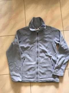 Adidas fleece full zip jacket