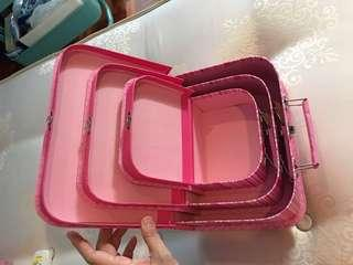 Jewellery Box 3 box in 1  set