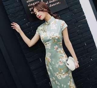 New Silk Cheongsam