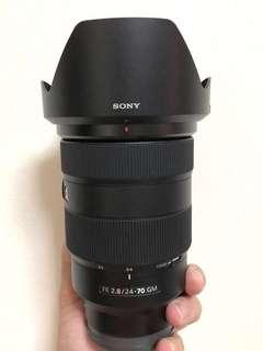 Sony 24-70mm f2.8 GM Lens