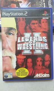 [Pre❤] PS2 Game (PAL) - Legends of Wrestling II (2002)