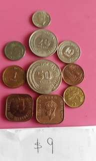 Old S'pore Coins.