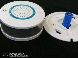 Wifi smoke and fire detector alarm
