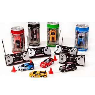 Remote Control Cars (Mini Coke Can)
