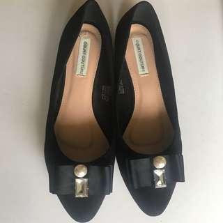 Black Flats size 38