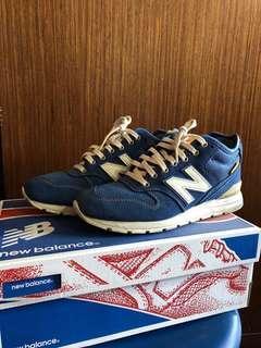 NB 996 麂皮 藍色